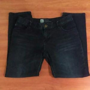 Mossimo Skinny Boyfriend Blue Jeans Size 6 (S_A)